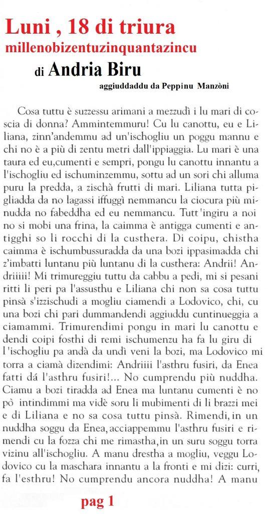 Ludovico&Lecciona e ghissu dizòttu di Triura